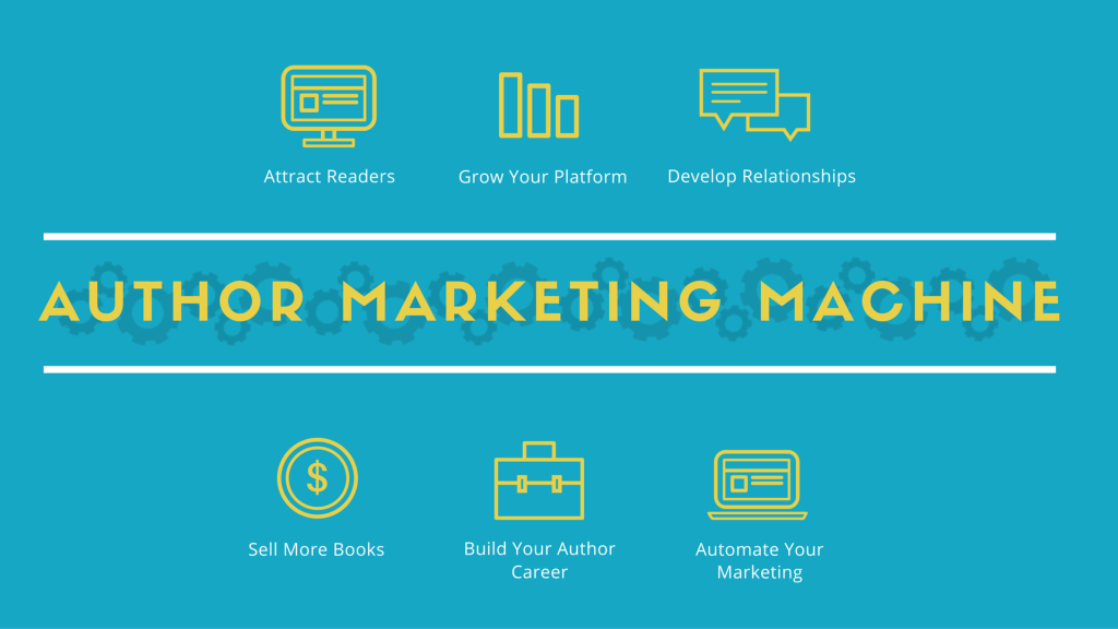 author marketing machine